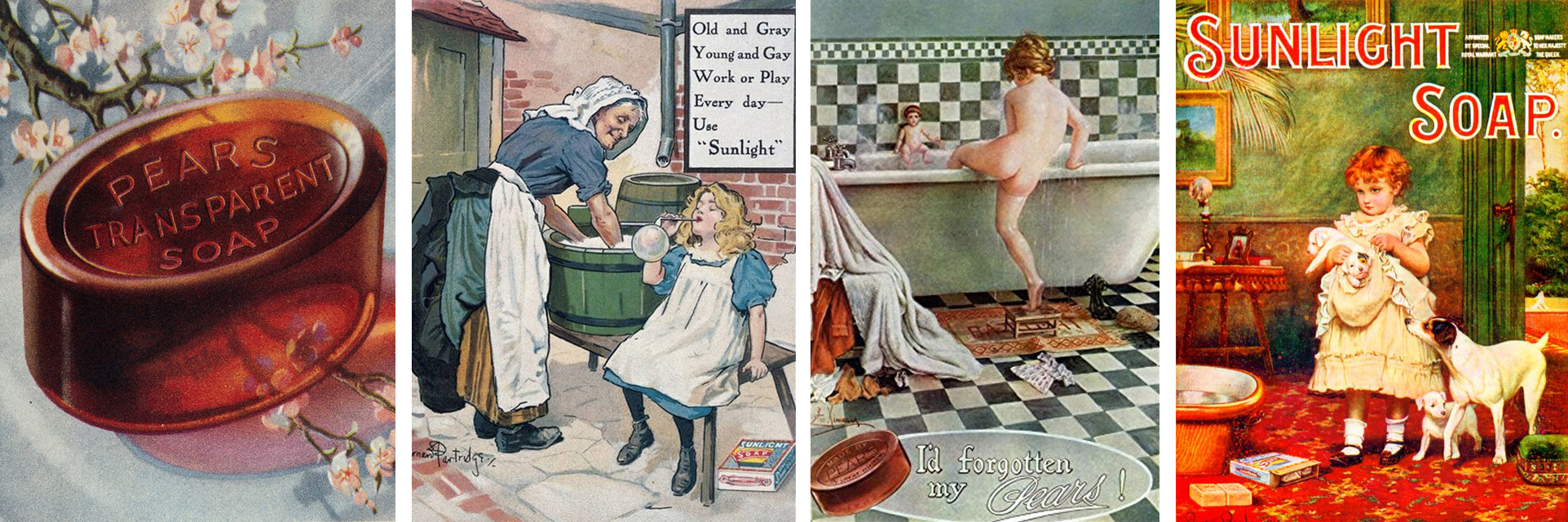Jupiter Soaps - Vintage Adverts